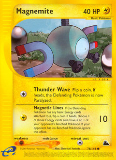 Magnemite card for Skyridge