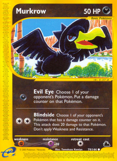 Murkrow card for Skyridge
