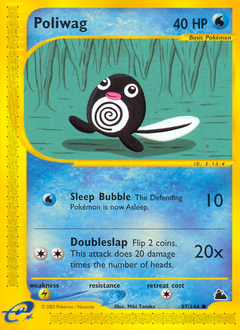 Poliwag card for Skyridge