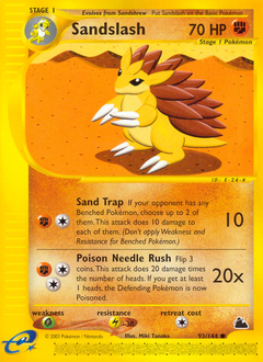Sandslash card for Skyridge