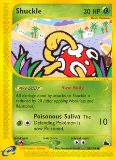 Shuckle card for Skyridge