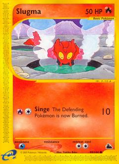 Slugma card for Skyridge