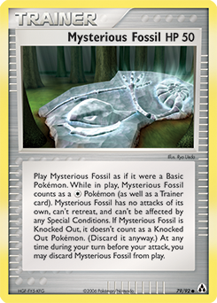 Mysterious Fossil