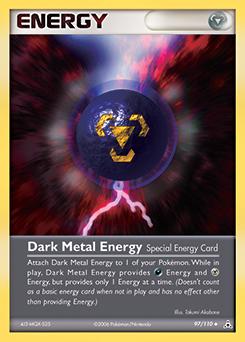 Dark Metal Energy