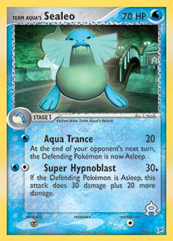 Team Aqua's Sealeo