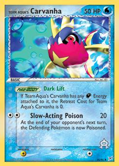 Team Aqua's Carvanha