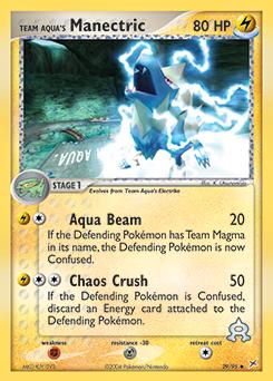 Team Aqua's Manectric