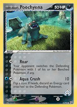 Team Aqua's Poochyena
