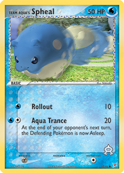 Team Aqua's Spheal