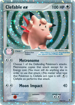 Clefable ex