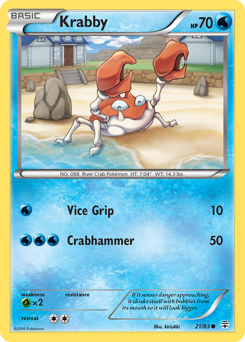 Krabby card for Generations