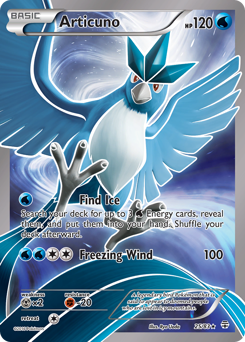 Articuno card for Generations