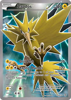 Zapdos card for Generations