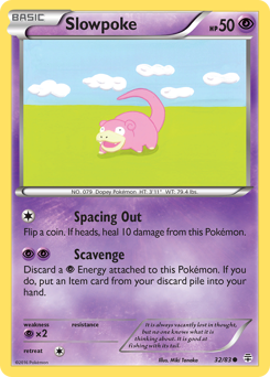 Slowpoke card for Generations