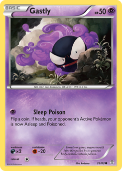 Gastly card for Generations