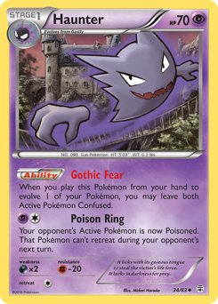 Haunter card for Generations
