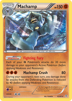 Machamp card for Generations