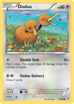 Doduo card for Generations