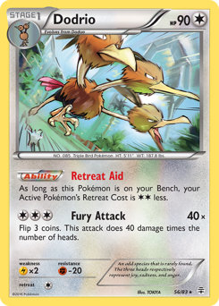 Dodrio card for Generations