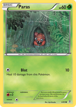 Paras card for Generations