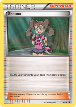 Shauna card for Generations