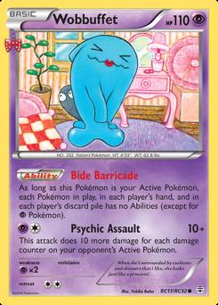 Wobbuffet card for Generations