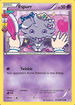 Espurr card for Generations
