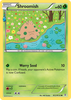 Shroomish card for Generations