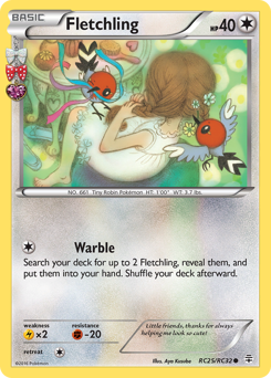 Fletchling card for Generations