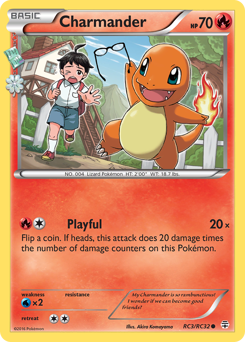 Charmander card for Generations
