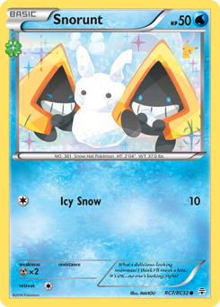 Snorunt card for Generations