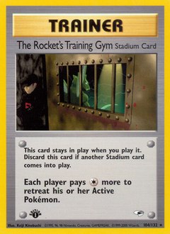 The Rocket's Training Gym card for Gym Heroes