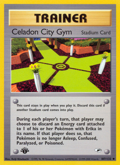 Celadon City Gym card for Gym Heroes