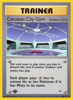 Cerulean City Gym card for Gym Heroes