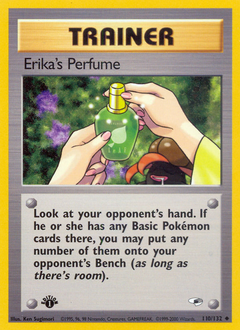 Erika's Perfume card for Gym Heroes