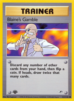 Blaine's Gamble card for Gym Heroes