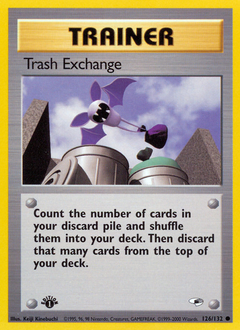 Trash Exchange card for Gym Heroes