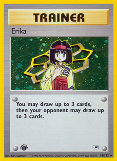 Erika card for Gym Heroes