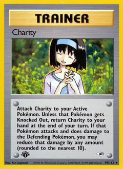 Charity card for Gym Heroes