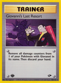 Giovanni's Last Resort