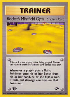Rocket's Minefield Gym
