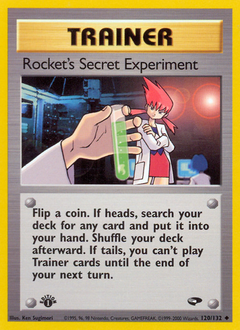 Rocket's Secret Experiment