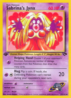 Sabrina's Jynx card for Gym Challenge