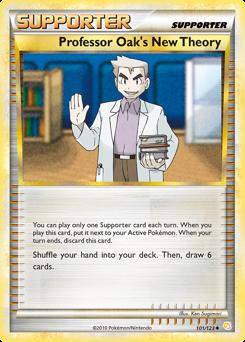 Professor Oak's New Theory