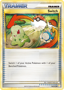 Switch card for HeartGold & SoulSilver