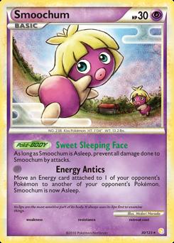Smoochum card for HeartGold & SoulSilver