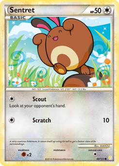 Sentret card for HeartGold & SoulSilver