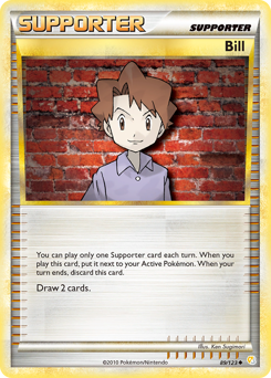 Bill card for HeartGold & SoulSilver