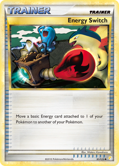 Energy Switch card for HeartGold & SoulSilver