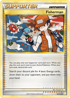 Fisherman card for HeartGold & SoulSilver
